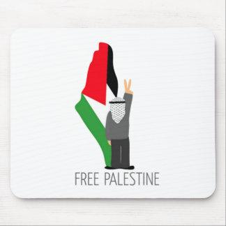 Palestina libre con la derecha de la vuelta alfombrillas de ratones
