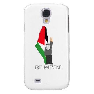 Palestina libre con la derecha de la vuelta funda para samsung galaxy s4