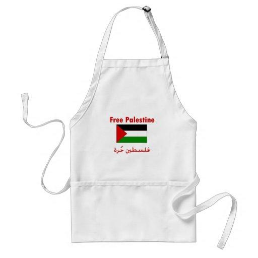 Palestina libre delantal