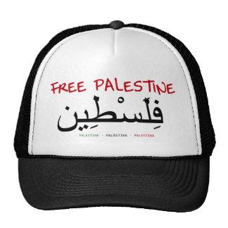 Palestina libre gorro