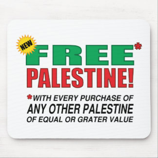 Palestina libre - libérenos de Palestina por favor Mouse Pad