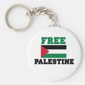 Palestina libre llavero redondo tipo pin