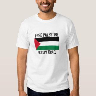 PALESTINA LIBRE OCUPA ISRAEL REMERA