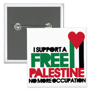 Palestina libre pin cuadrada 5 cm
