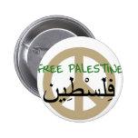 Palestina libre pin redondo 5 cm