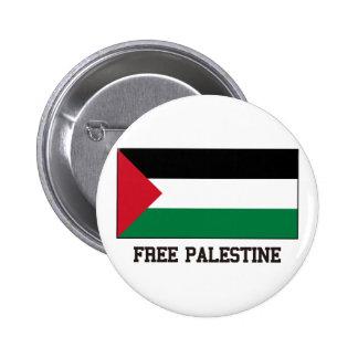 Palestina libre pin redondo de 2 pulgadas