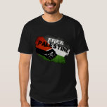 Palestina libre poleras