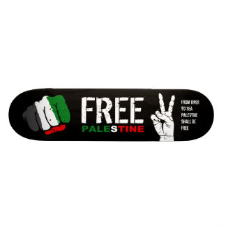 Palestina libre skateboard