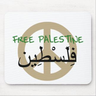 Palestina libre tapetes de raton