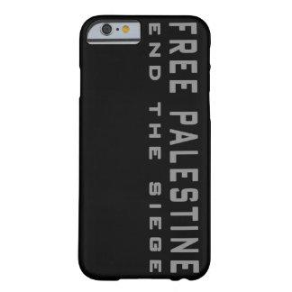 Palestina libre - termine el caso del iPhone 6 del Funda De iPhone 6 Barely There
