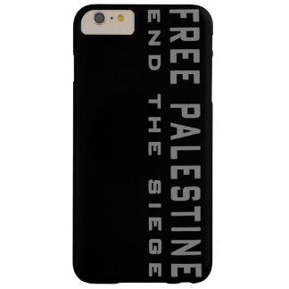 Palestina libre - termine el caso más del iPhone 6 Funda De iPhone 6 Plus Barely There
