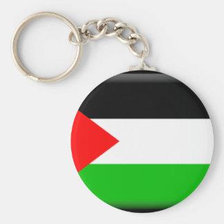 Palestina Llavero Redondo Tipo Pin