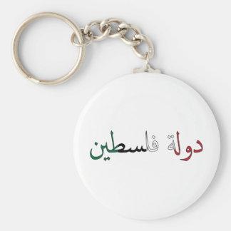 Palestina/Palestina Llavero Redondo Tipo Pin