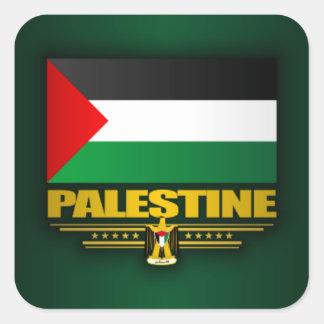 Palestina Pegatina Cuadrada