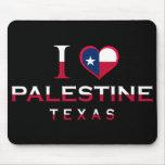 Palestina, Tejas Alfombrillas De Ratón