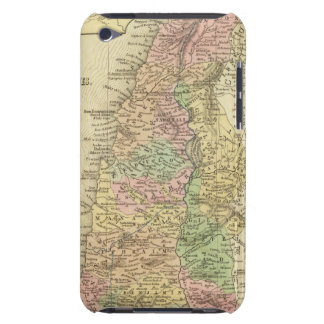 Palestina y países adyacentes iPod touch Case-Mate protector