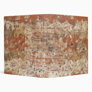 Palestine 15th Century Topography of the Holy Land Vinyl Binder