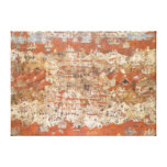 Palestine 15th Century Topography of the Holy Land Canvas Print