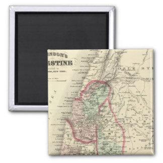 Palestine 4 2 inch square magnet