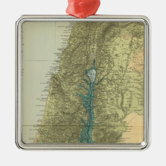 Palestine 5 metal ornament