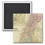 Palestine & Adjacent Countries 2 Inch Square Magnet