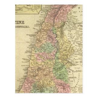 Palestine Adjacent Countries Post Cards