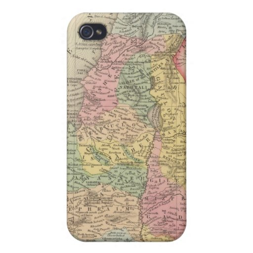 Palestine and Adjacent Countries 2 iPhone 4 Cover