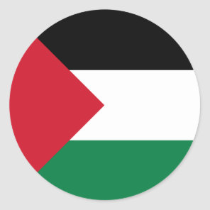 Palestine Classic Round Sticker