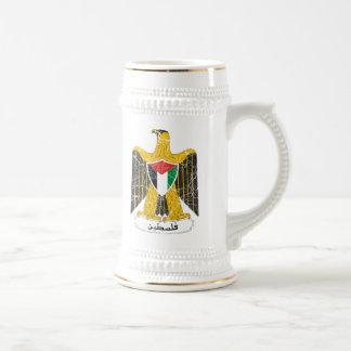 Palestine Coat Of Arms Beer Stein