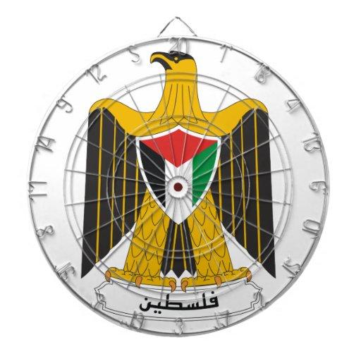Palestine Coat Of Arms Dart Board