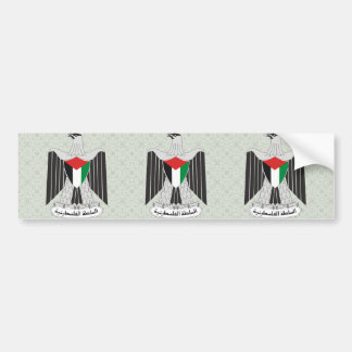 Palestine Coat of Arms detail Bumper Stickers