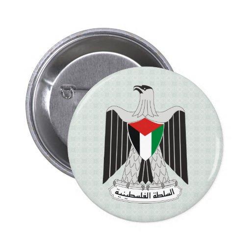 Palestine Coat of Arms detail Pin