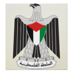 Palestine Coat of Arms detail Poster
