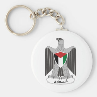 Palestine Coat of Arms Keychain