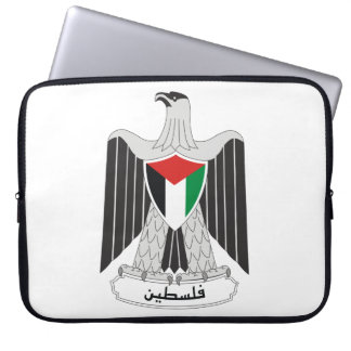 palestine coat of arms laptop sleeve