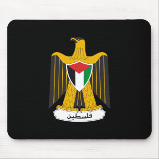 Palestine Coat of Arms Mouse Pad