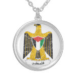 Palestine Coat of Arms Necklace