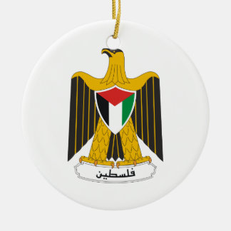 Palestine Coat Of Arms Ornament