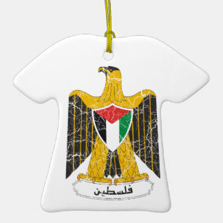 Palestine Coat Of Arms Christmas Ornaments