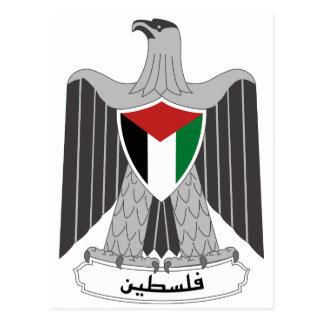Palestine Coat of Arms Postcard