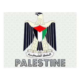 Palestine Coat of Arms Postcards