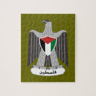 Palestine Coat of Arms Jigsaw Puzzles