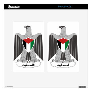 Palestine Coat of Arms Decals For Kindle Fire