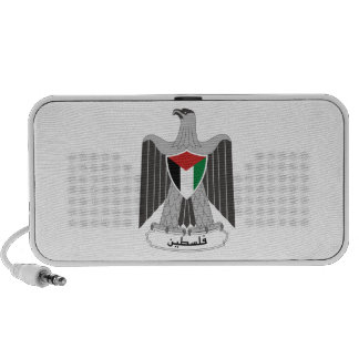 Palestine Coat of Arms Portable Speakers