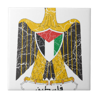 Palestine Coat Of Arms Tile
