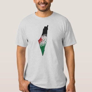 Palestine Country Outline Flag T-Shirt