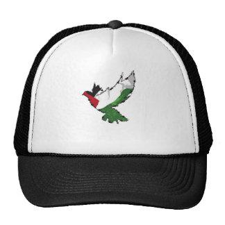 Palestine Dove Mesh Hats