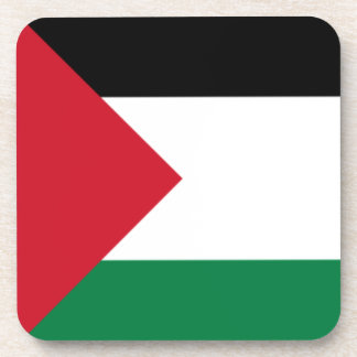 palestine drink coaster