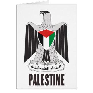 PALESTINE - emblem/flag/coat of arms/symbol Card