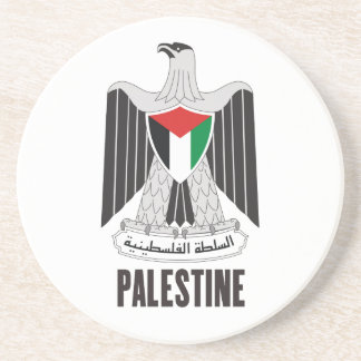 PALESTINE - emblem/flag/coat of arms/symbol Drink Coaster